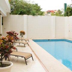 Hotel Villa Las Margaritas Sucursal Caxa бассейн фото 2