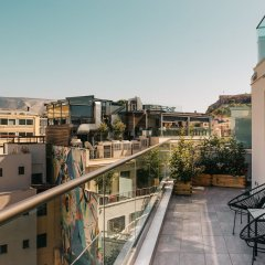 Отель 360 Degrees Pop Art Hotel Греция, Афины - отзывы, цены и фото номеров - забронировать отель 360 Degrees Pop Art Hotel онлайн балкон