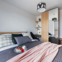 Отель P&O Apartments Obozowa 2 Польша, Варшава - отзывы, цены и фото номеров - забронировать отель P&O Apartments Obozowa 2 онлайн комната для гостей фото 5