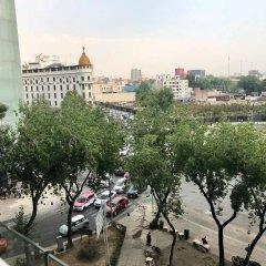 Отель Plaza Suites Mexico City Hotel Мексика, Мехико - отзывы, цены и фото номеров - забронировать отель Plaza Suites Mexico City Hotel онлайн балкон