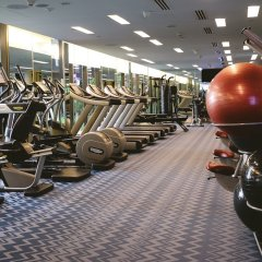 Отель Crowne Plaza Changi Airport фитнесс-зал фото 3