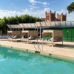 Отель Balneari Vichy Catalan бассейн