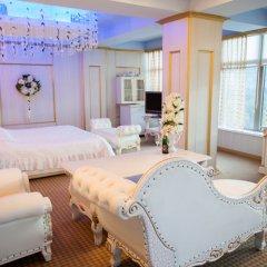 Гостиница Гагарин комната для гостей фото 5