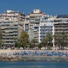 Отель Port Mar Blau Adults Only Испания, Бенидорм - 1 отзыв об отеле, цены и фото номеров - забронировать отель Port Mar Blau Adults Only онлайн пляж