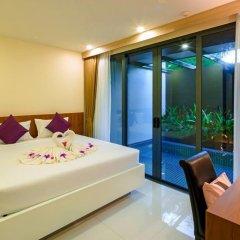 Отель At The Tree Condominium Phuket Вилла с различными типами кроватей
