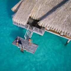 Отель InterContinental Bora Bora Resort and Thalasso Spa фитнесс-зал фото 2
