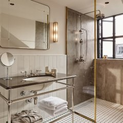 Отель Sanders Дания, Копенгаген - отзывы, цены и фото номеров - забронировать отель Sanders онлайн ванная фото 2