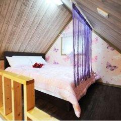 Отель Pyeongchang Sky Garden Pension Южная Корея, Пхёнчан - отзывы, цены и фото номеров - забронировать отель Pyeongchang Sky Garden Pension онлайн комната для гостей фото 3