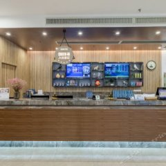 Отель Hanting Express Guangzhou Tianhe Coach Terminal Station Branch Китай, Гуанчжоу - отзывы, цены и фото номеров - забронировать отель Hanting Express Guangzhou Tianhe Coach Terminal Station Branch онлайн гостиничный бар