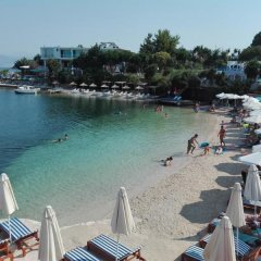 Hotel Chris пляж
