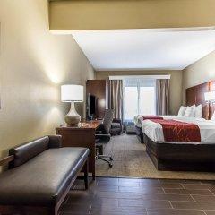 Отель Comfort Suites Effingham комната для гостей фото 4