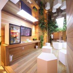 Отель POP1 Hotel Южная Корея, Сеул - отзывы, цены и фото номеров - забронировать отель POP1 Hotel онлайн интерьер отеля фото 4