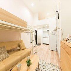 Отель Trip Pod Sumiyoshi C Хаката комната для гостей