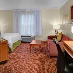 Отель TownePlace Suites Columbus Worthington США, Колумбус - отзывы, цены и фото номеров - забронировать отель TownePlace Suites Columbus Worthington онлайн комната для гостей фото 5