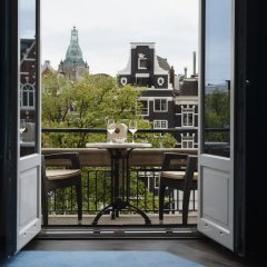 Отель De L europe Amsterdam The Leading Hotels Of The World Амстердам балкон