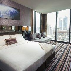 Отель The Continent Bangkok by Compass Hospitality 4* Представительский номер с различными типами кроватей фото 23