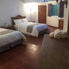 Отель Parador Santa Cruz Мексика, Креэль - отзывы, цены и фото номеров - забронировать отель Parador Santa Cruz онлайн комната для гостей фото 3