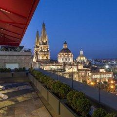 Отель NH Collection Guadalajara Centro Historico балкон