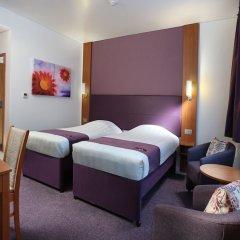 Отель Premier Inn Abu Dhabi Capital Centre комната для гостей фото 2