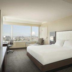 Отель Hilton San Francisco Union Square 4* Стандартный номер с двуспальной кроватью фото 4