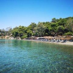 Отель Valente Perlia Rooms Греция, Порос - отзывы, цены и фото номеров - забронировать отель Valente Perlia Rooms онлайн пляж фото 2
