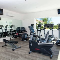 Aquamarina Beach Hotel фитнесс-зал
