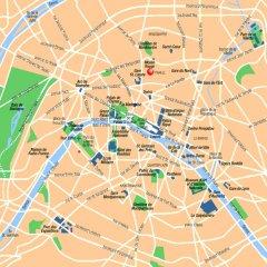 Отель Villa Boheme Париж городской автобус