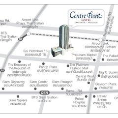 Отель Centre Point Pratunam городской автобус