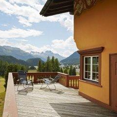 Отель Chesa Spuondas Швейцария, Санкт-Мориц - отзывы, цены и фото номеров - забронировать отель Chesa Spuondas онлайн балкон