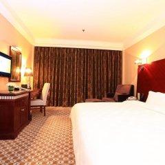 Отель Peony Wanpeng Hotel - Xiamen Китай, Сямынь - отзывы, цены и фото номеров - забронировать отель Peony Wanpeng Hotel - Xiamen онлайн комната для гостей фото 3