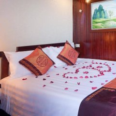 Отель Aclass Cruise Halong Вьетнам, Халонг - отзывы, цены и фото номеров - забронировать отель Aclass Cruise Halong онлайн комната для гостей фото 3