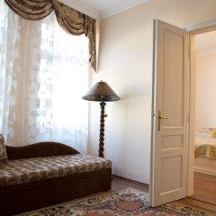 Отель Libušina Чехия, Карловы Вары - отзывы, цены и фото номеров - забронировать отель Libušina онлайн комната для гостей фото 5