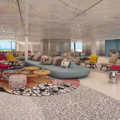 Отель W Ibiza интерьер отеля