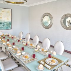 Отель Dream Inn Dubai-Luxury Palm Beach Villa питание