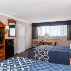 Отель Days Inn Airport Center LAX комната для гостей фото 5