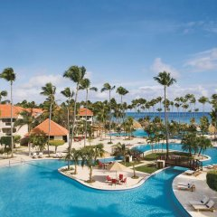 Отель Dreams Palm Beach Punta Cana - Luxury All Inclusive Доминикана, Пунта Кана - отзывы, цены и фото номеров - забронировать отель Dreams Palm Beach Punta Cana - Luxury All Inclusive онлайн бассейн фото 3