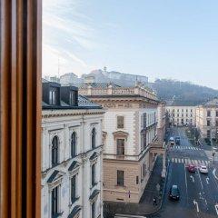 Отель SLAVIA балкон