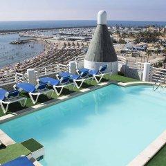 Hotel Villa de Laredo бассейн