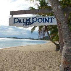 Отель Palm Point Village пляж фото 4