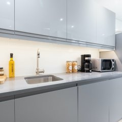 Апартаменты Kensington Area - Private Apartment Лондон в номере фото 4