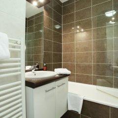 Отель Odalys City Lyon Bioparc Франция, Лион - отзывы, цены и фото номеров - забронировать отель Odalys City Lyon Bioparc онлайн ванная