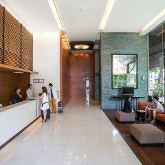 Отель Amanta Hotel & Residence Ratchada Таиланд, Бангкок - отзывы, цены и фото номеров - забронировать отель Amanta Hotel & Residence Ratchada онлайн интерьер отеля