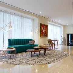 Отель Pestana Porto - A Brasileira City Center And Heritage Building Порту комната для гостей