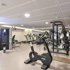 Отель Marriott Lyon Cité Internationale фитнесс-зал фото 2