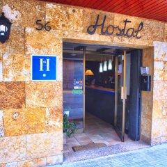 Отель Hostal Isabel Испания, Бланес - отзывы, цены и фото номеров - забронировать отель Hostal Isabel онлайн вид на фасад