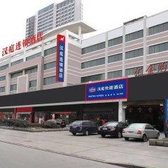 Отель Hanting Express Lianyungang Jiefang Road Huijin Square парковка