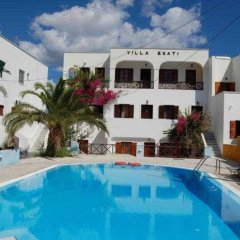 Отель Ekati Hotel Греция, Остров Санторини - отзывы, цены и фото номеров - забронировать отель Ekati Hotel онлайн бассейн фото 2