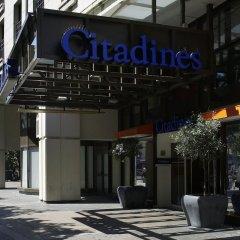 Отель Citadines Les Halles Paris Франция, Париж - 3 отзыва об отеле, цены и фото номеров - забронировать отель Citadines Les Halles Paris онлайн вид на фасад