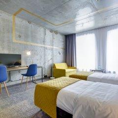 Отель Arche Hotel Geologiczna Польша, Варшава - отзывы, цены и фото номеров - забронировать отель Arche Hotel Geologiczna онлайн комната для гостей фото 4