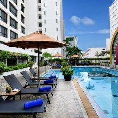 Отель BelAire Bangkok Бангкок бассейн фото 3